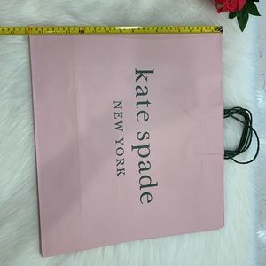 2 large kate spade shopping bags
